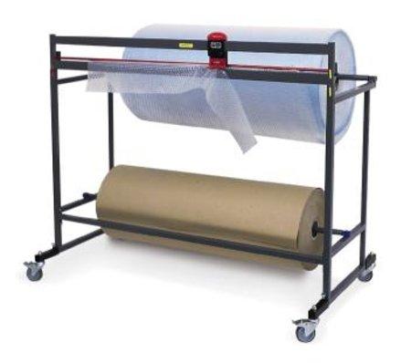 Schneidständer, waagerecht, für Rollen bis 125cm Breite 80cm Durchmesser und 150kg für Papier und Lupofolie