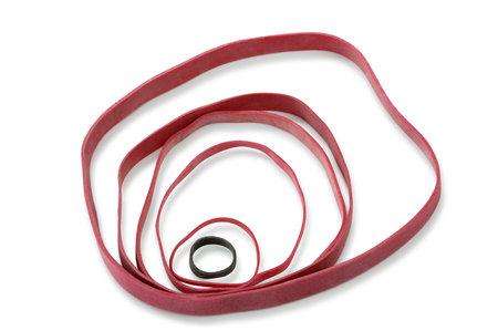 Gummibänder, rot, 70x5mm