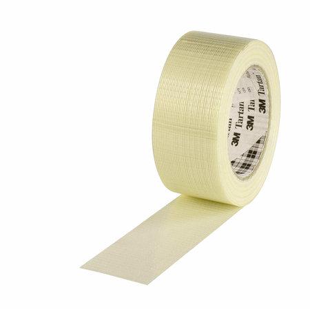 Filamentband Spezial, 50mm breitx50lfm, 125µ, transp.,längs- u.querverstärkt, Hotmeltkleber, 3M Scotch 8954