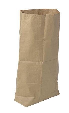 Kraftpapier-Abfallsack, 700x950mm,, 70g/qm Kraftpapier,Inhalt 120l, Nassfest, recycelbar