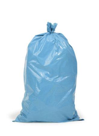 PE-Abfallsäcke Premium für, Mülltonne, 650x550x1350mm, 60µ, Inhalt 240l, blau, 100 St. je Karton