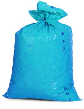 PE-Abfallsäcke Premium, 700x1100mm, Inhalt 120l, 100µ ,blau, 25 St. je Ro./6 Ro. je Karton